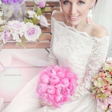 Jolania Photography, Kolczyki ślubne sutasz