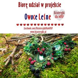 """WOŚP 2017 – Kolia """"Owoce Leśne"""""""